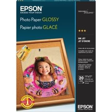 Picture of EPSON Photo Paper Glossy 8.5x11 Pk.20