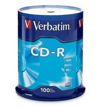 Picture of Verbatim CDR Spindle of 100