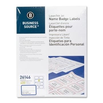 Picture of Label Laser/InkJet Blue Badges 2.33x3.38 400/Pk