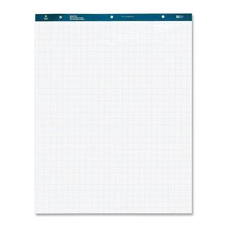"""Picture of Easel Pads 27""""x34"""" 50sht. 1"""" Quad White 4/Carton"""
