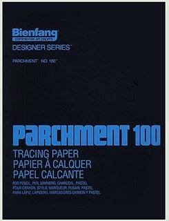 """Picture of Bienfang No.100 14""""x17"""" 100 Sheet Pad"""
