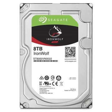"Picture of Seagate 8TB Ironwolf SATA 3.5"" NAS Hard Drive"
