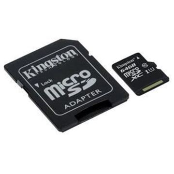 Picture of Kingston Canvas Select 64 GB microSDXC