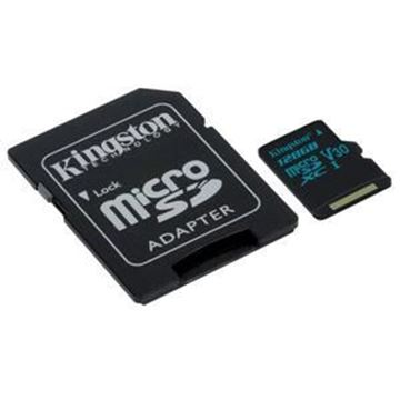 Picture of Kingston Canvas Go! 128 GB microSDXC