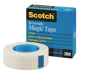 Picture of 3M #811 18mmx33m Scotch Magic Tape