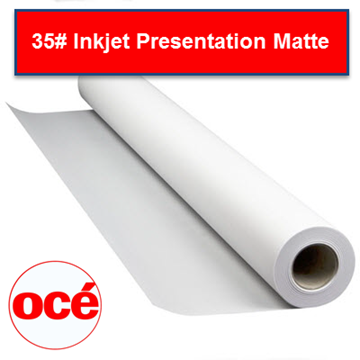 "Picture of Oce Presentation Bond 35lb 132gsm 36""x100'"