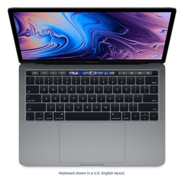 """Picture of 13"""" MacBook Pro with Touch Bar: 1.4GHz quad-core 8th-generation Intel Core i5 - 8GB Ram - 256GB - Space Gray"""